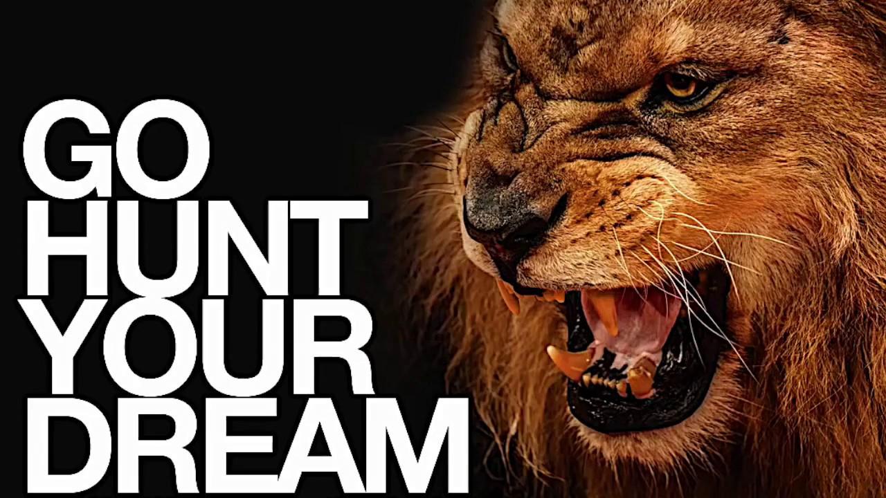 Go HUNT Your Dream - Motivational Speech (Audio Download