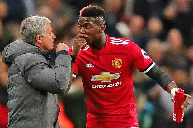 Mourinho Ungkap Peran Baru Pogba di Skuatnya