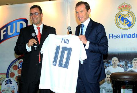 El Real Madrid presenta sponsor en México