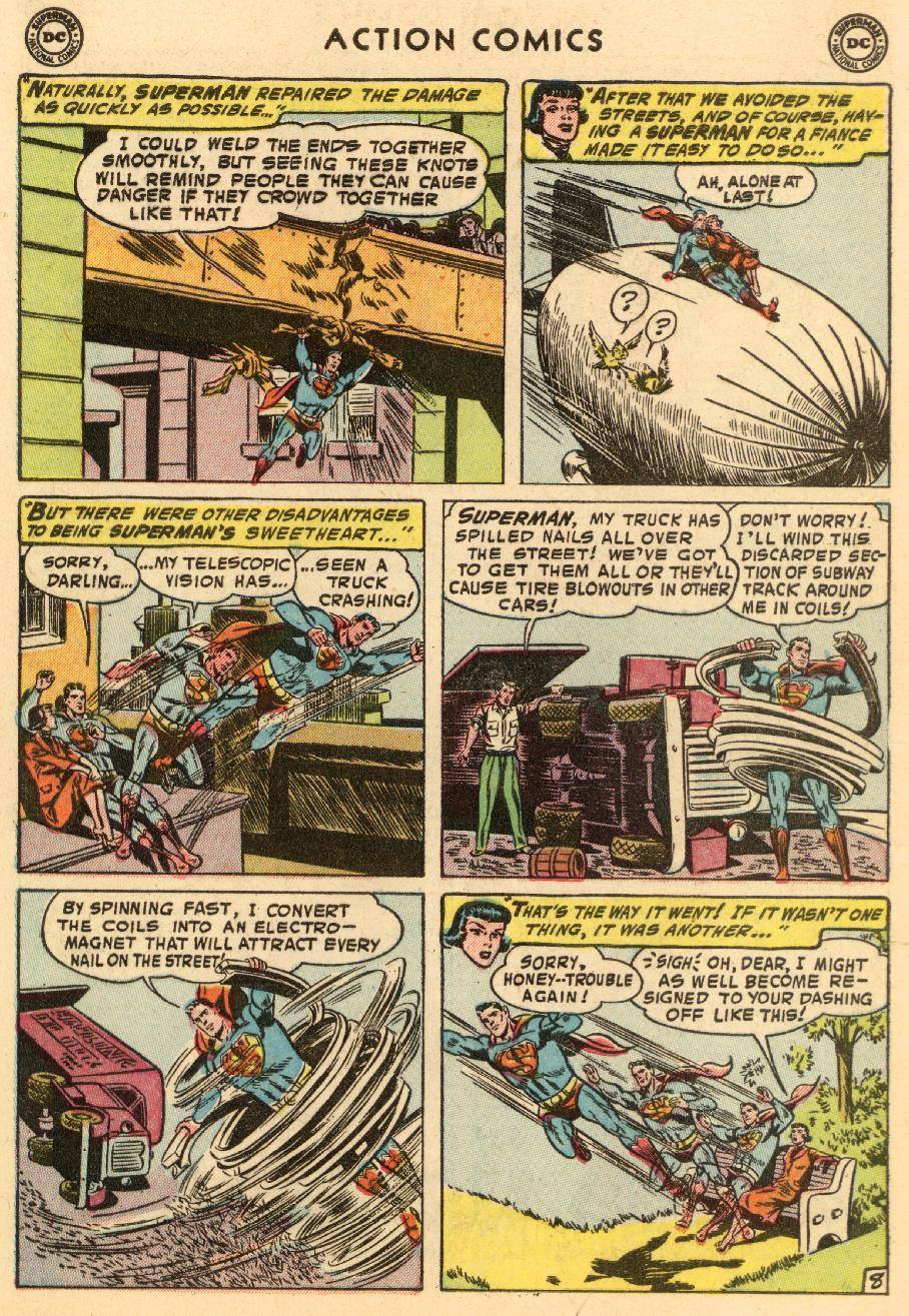Read online Action Comics (1938) comic -  Issue #206 - 10