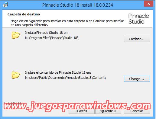 Pinnacle Studio Ultimate v18.0.1 Multilenguaje ESPAÑOL (CORE) 6