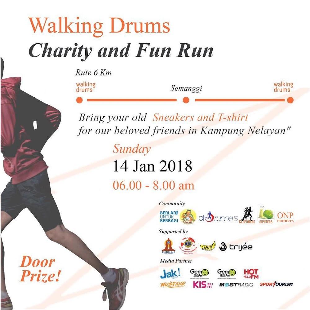 Walking Drums - Charity Fun Run • 2018