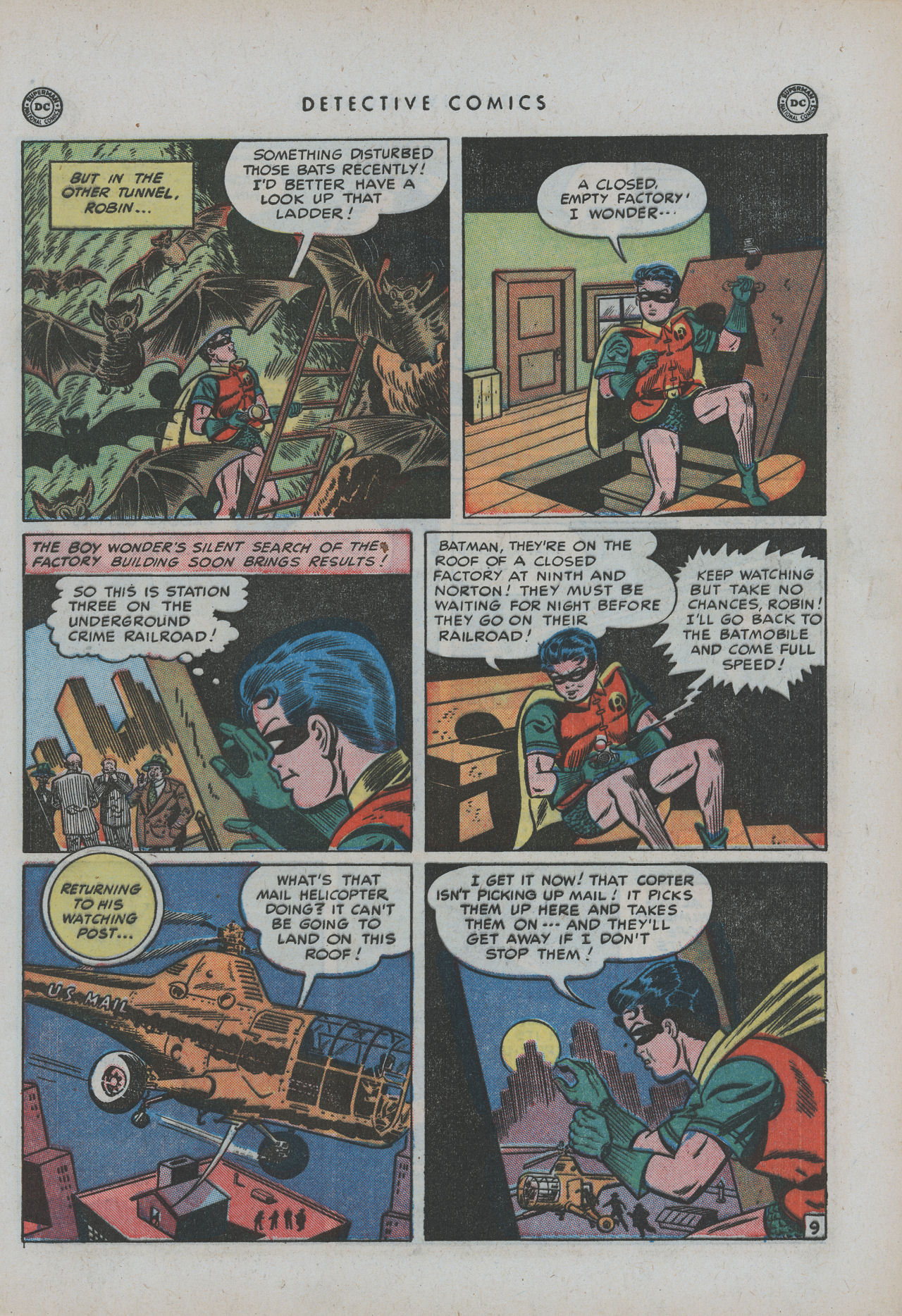 Read online Detective Comics (1937) comic -  Issue #154 - 11
