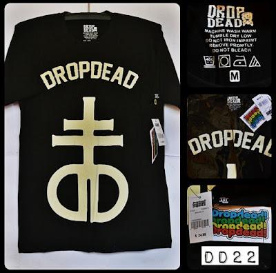 Kaos Distro Surfing Skate DROP DEAD Premium Kode DD22