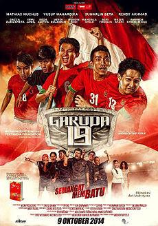 Poster Film Garuda 19: Semangat Membatu