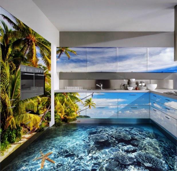 vinyl flooring 3d for kitchen nice 3d floor design