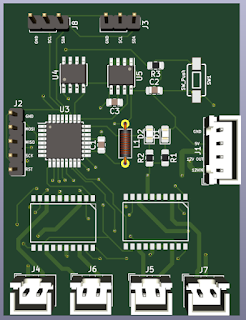 PCB layout 2