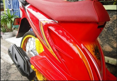 Modifikasi Honda Beat Airbrush Simple