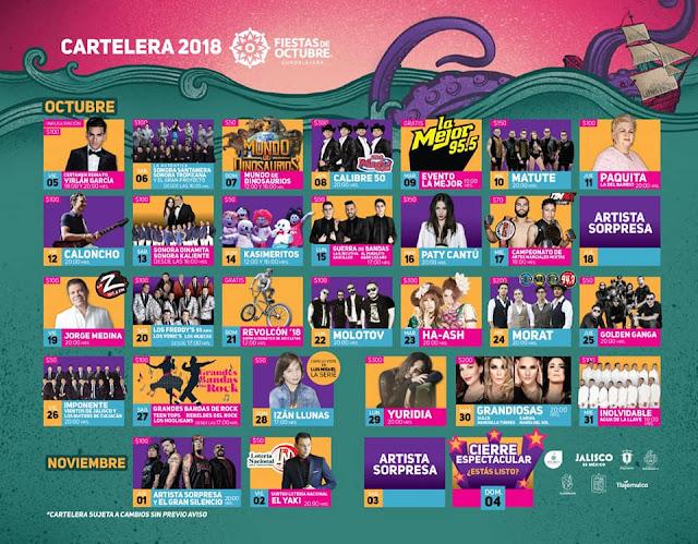 teatro del pueblo fiestas de octubre guadalajara 2018