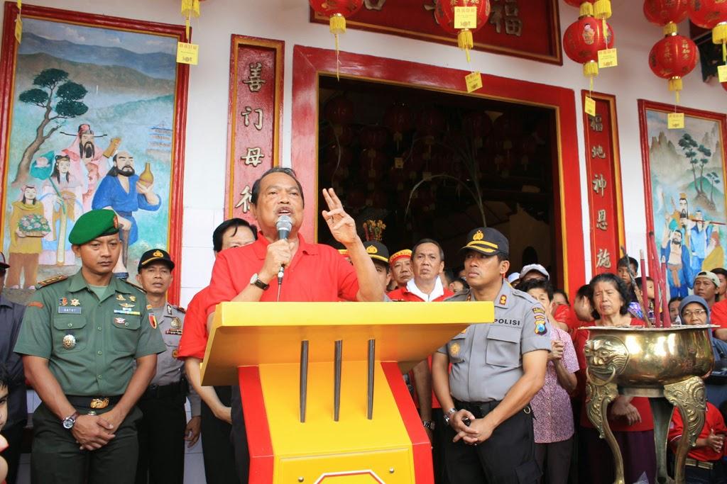 Ditradisikan, Walikota Minta Kirab Barongsai Jadi Agenda Tahunan
