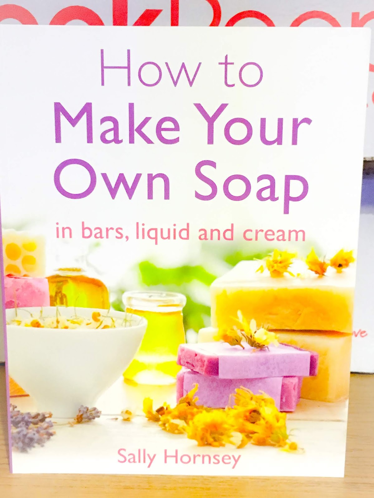 How To Make Your Own Soap front cover