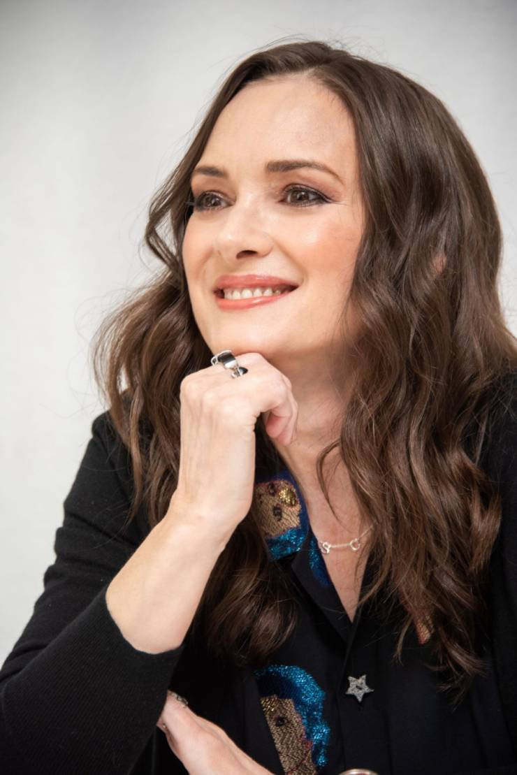 Winona Ryder At Stranger Things Press Conference