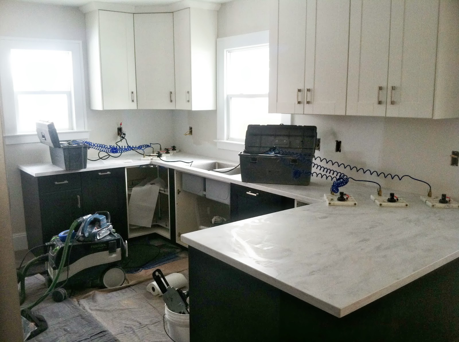 Kitchen Renovation Solid Surface Countertops Danks And Honey