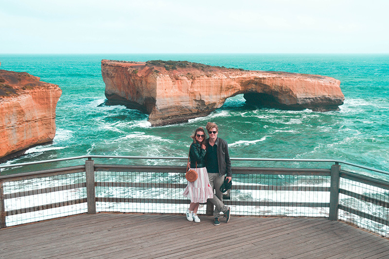 london bridge london arch the great ocean road victoria australia