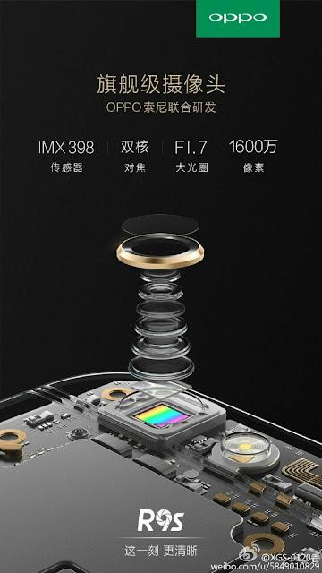 Teaser Oppo R9s