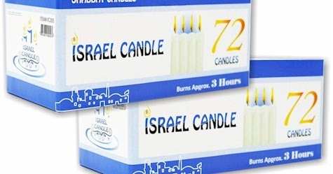 Daily Cheapskate: 144-count Shabbos candles for $14 94 on Amazon