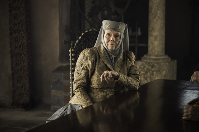 Diana Rigg as Lady Olenna Tyrell in the HBO series 'Game of Thrones'