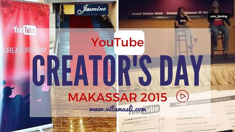 YouTube Creator's Day in Makassar, Workshop Sehari Jadi Youtubers
