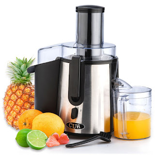 DEAL CUH 990W Professional Stainless Steel Fruit or Vegetable Juicer Silver £36.99 @Amazon shared by DayUKDeals.com