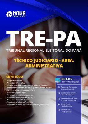 Apostila Concurso TRE PA 2020 Técnico Judiciário Área Administrativa Grátis Cursos Online