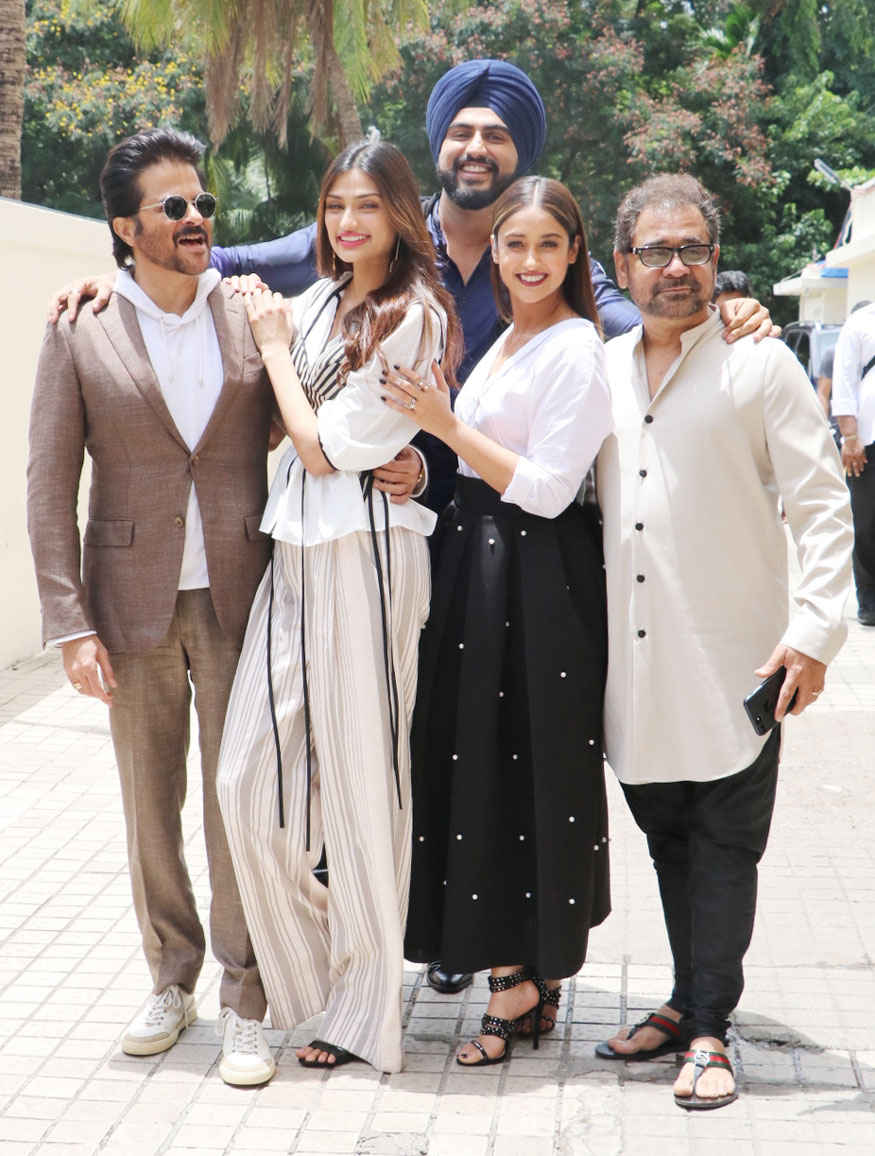 'Mubarakan' Trailer Launch Event Photo Gallery
