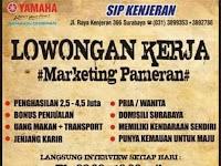 lowongan kerja Marketing Pameran Surabaya