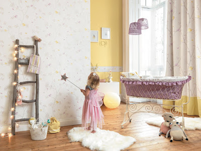 Papel Pintado Infantil My Little World Casadeco