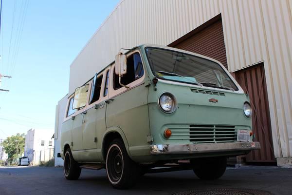1966 Chevy Sportvan Deluxe