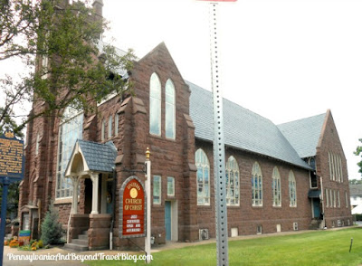 United Church of Christ - Old Brownstone Church in Hummelstown Pennsylvania