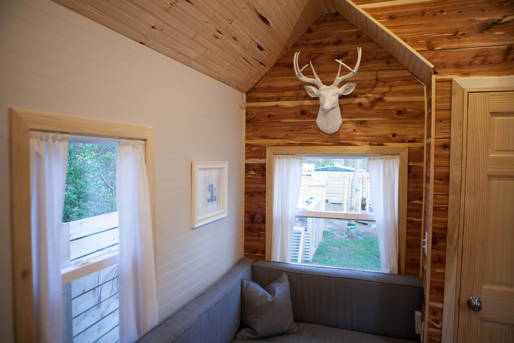 Tiny House Town Rentable Tiny House By Tiny Midwest