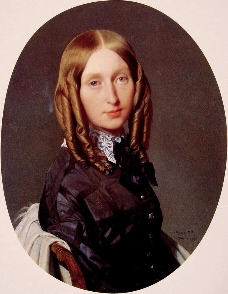 Madame Frederic Reiset - Ingres e suas principas pinturas ~ Neoclassicismo