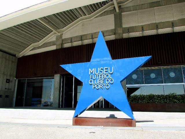 Entrada do Museu do FC Porto