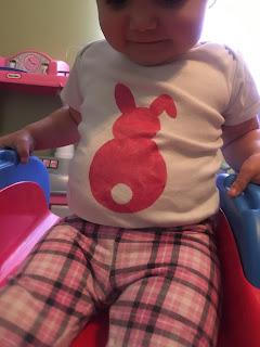 DIY Easter Bunny Onesie