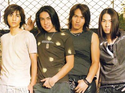 F4: Jerry Yan, Vanness Wu, Ken Chu e Vic Chou