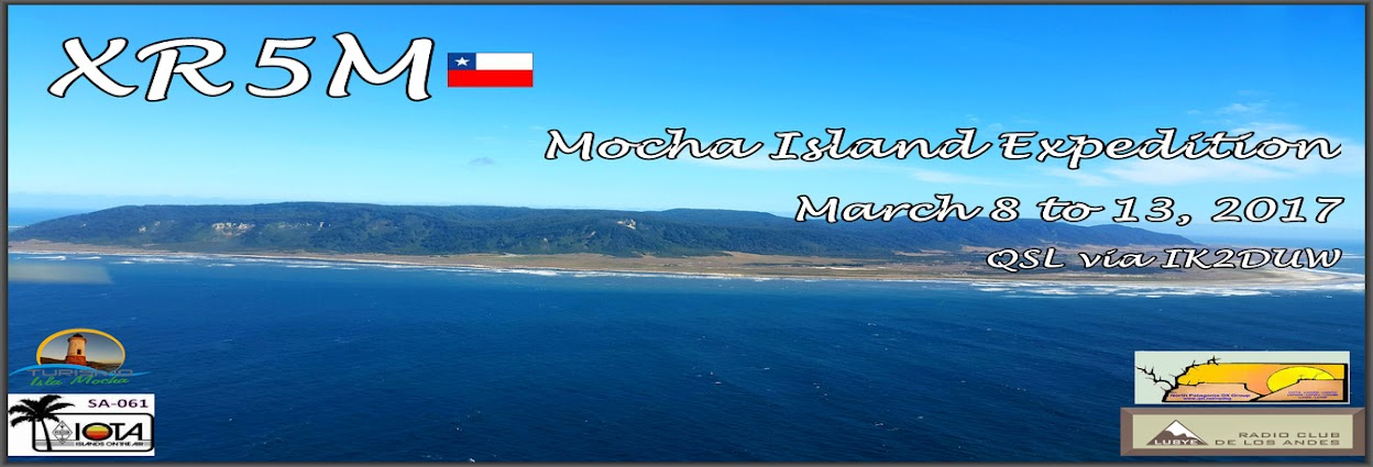 XR5M Mocha Island 2017 DXpedition