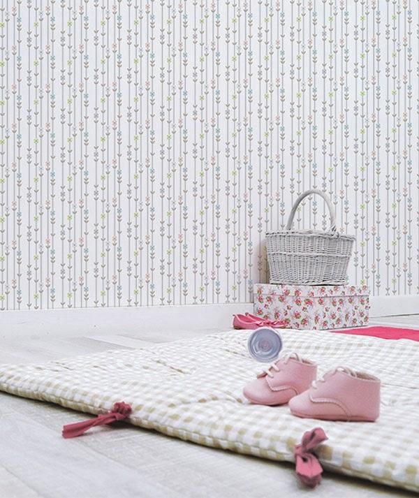 Love print studio blog paper cloth for lilipinso for 4 murs papier peint chambre fille