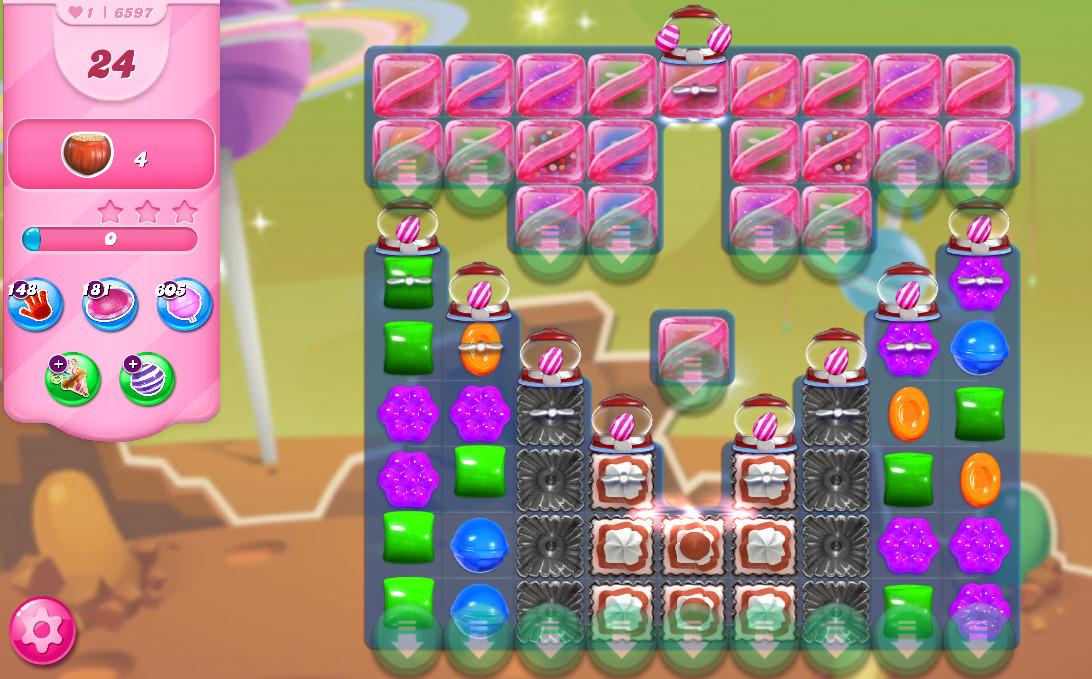 Candy Crush Saga level 6597