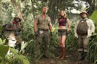 Jumanji: Welcome to the Jungle Jack Black, Kevin Hart, Dwayne Johnson and Karen Gillan Image 3 (6)