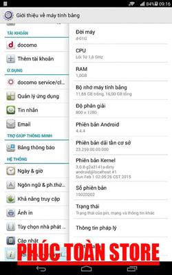 Tiếng Việt Docomo Dtab D-01G alt
