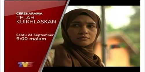 Sinopsis cerekarama Telah Ku Ikhlaskan TV3, pelakon dan gambar cerekarama Telah Ku Ikhlaskan TV3