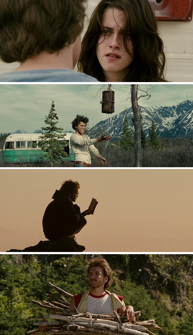 Screen Shot Of Into the Wild 2007 300MB Full Movie Hindi Dubbed Free Download 480P BRRip Small Size PC Movie