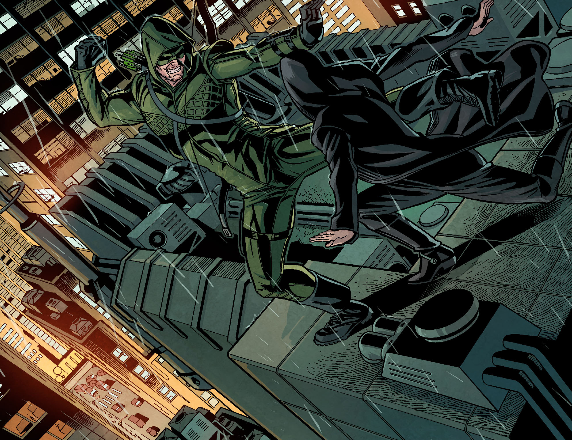 Read online Arrow: Season 2.5 [I] comic -  Issue #9 - 3