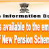 NPS: Benefits available to the employees of New Pension Scheme