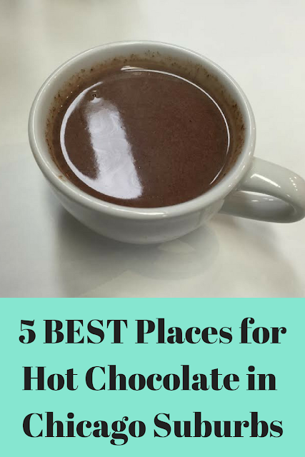 5 Places for the BEST Hot Chocolate in the #Chicago Suburbs