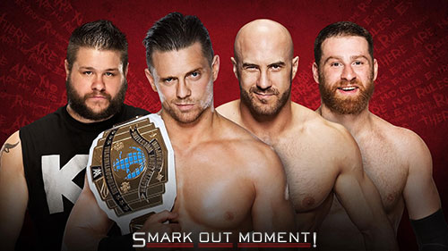 WWE Extreme Rules 2016 IC Title Match