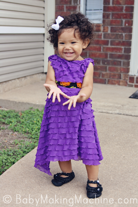 The Ruffle Dress | Free Girls Dress Patterns You Can Use For Sewing | childrens dress patterns