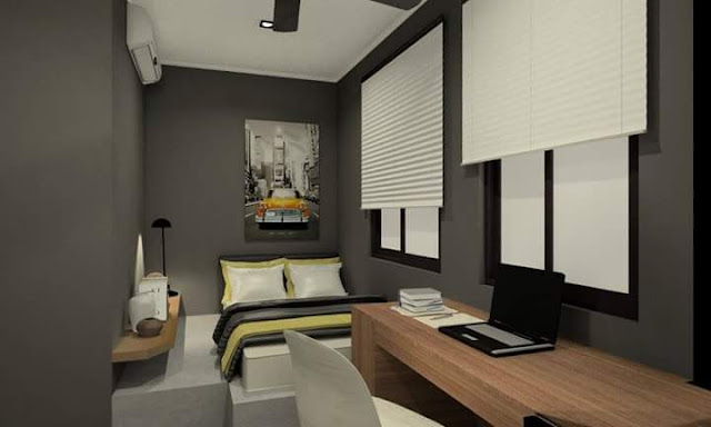Teenager's Bedroom Design - Meridian Interior Design