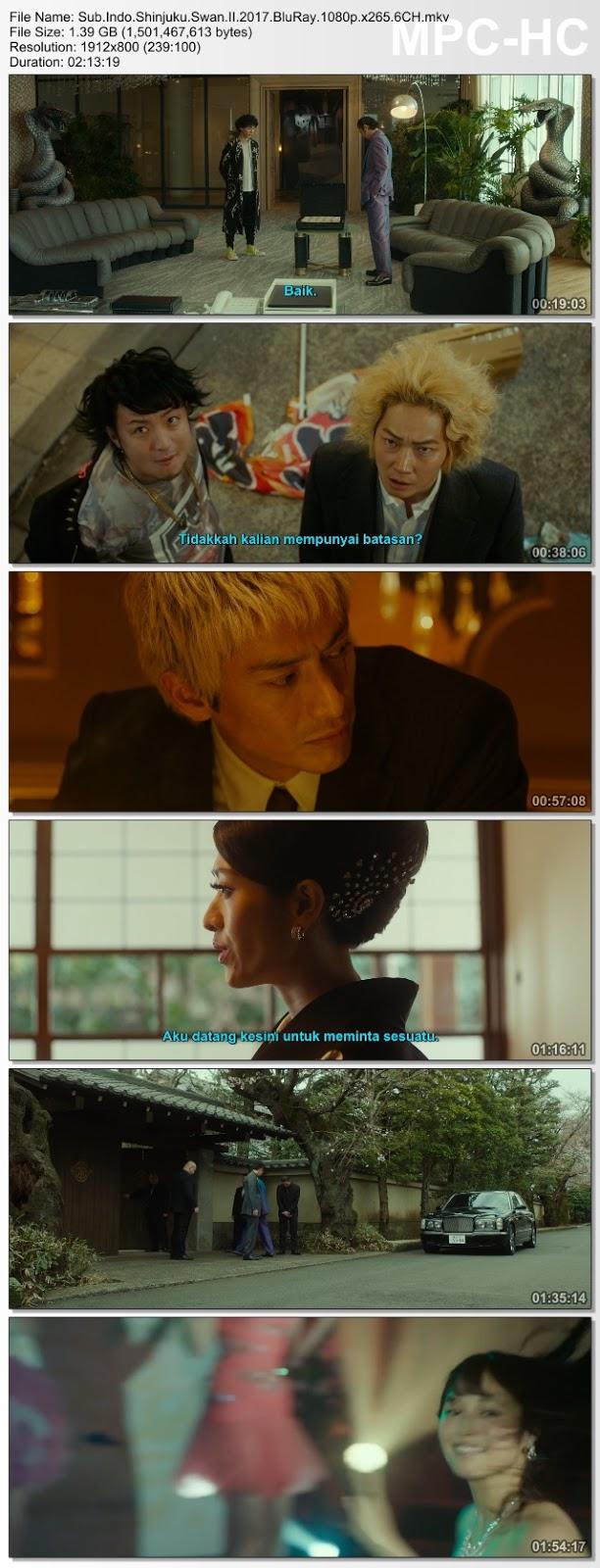 Screenshots Download Film Gratis Shinjuku Suwan II (2017) BluRay 480p MP4 Subtitle Bahasa Indonesia 3GP