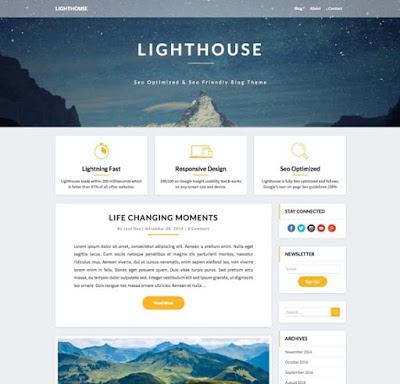 ​​Lighthouse Wordpress Theme