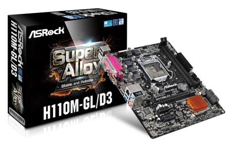 ASRock - H110M-GL/D3